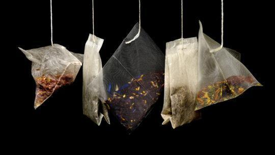Hanging teabags